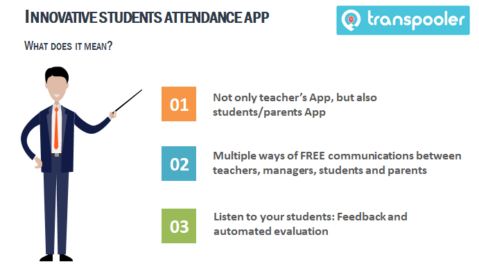 Student attendance Apps by Transpooler Inc